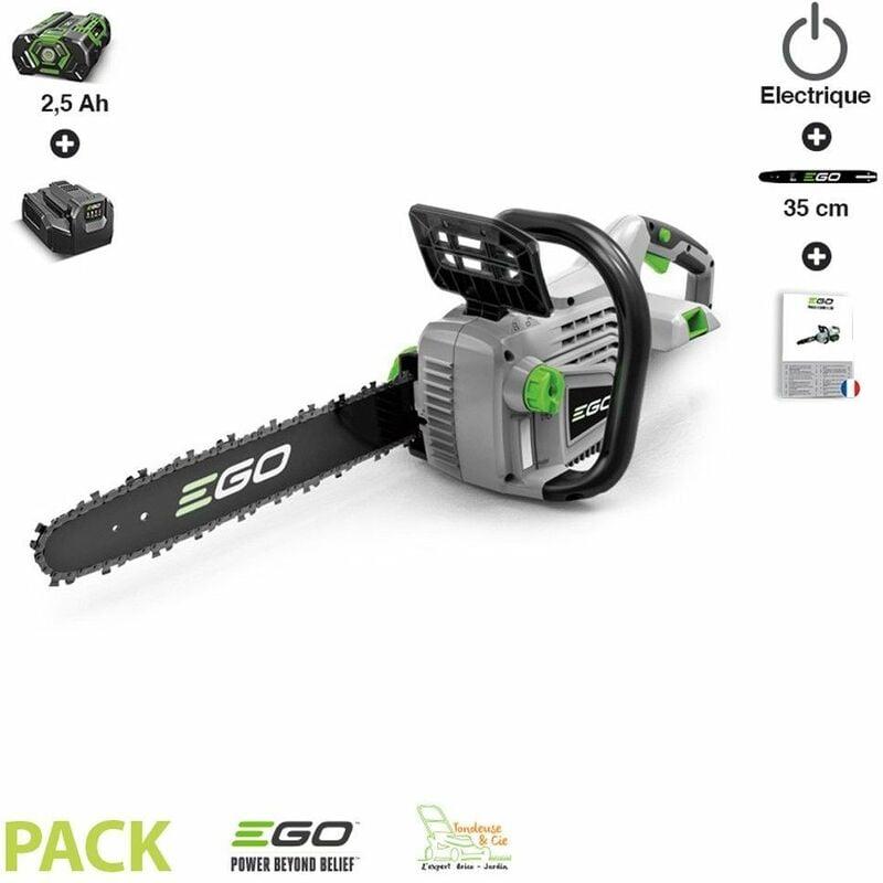 EGO POWER+ Pack tronconneuse électrique Ego Power+ CS1401E prêt à l'emploi