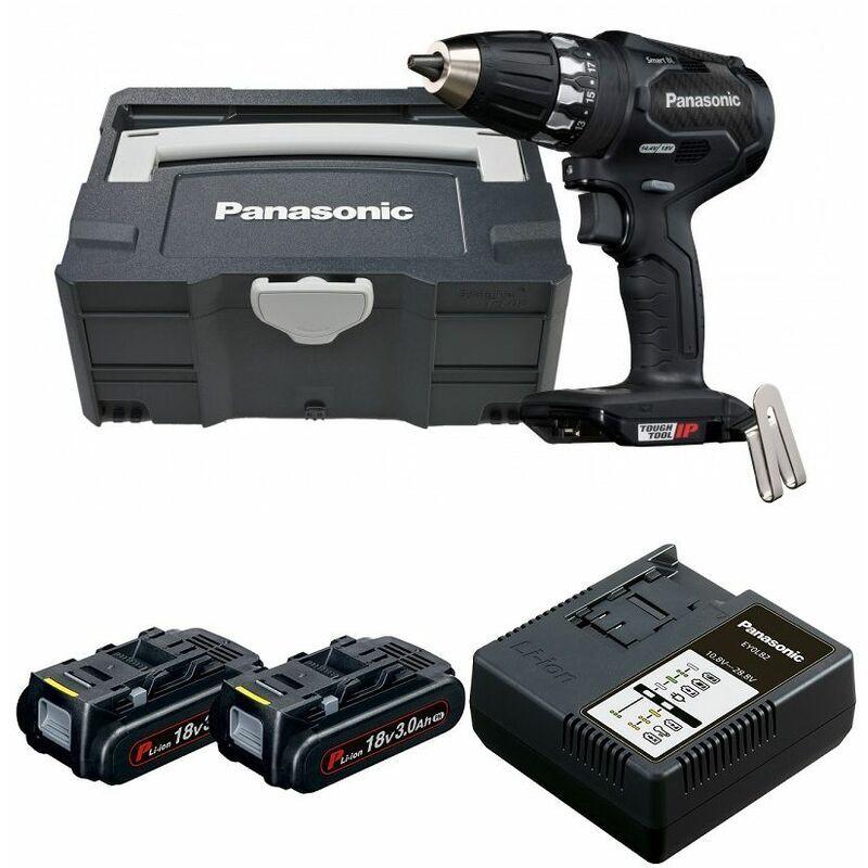 Panasonic EY74A3LJ2G - Set perceuse visseuse Li-Ion 14,4-18V (2x batterie