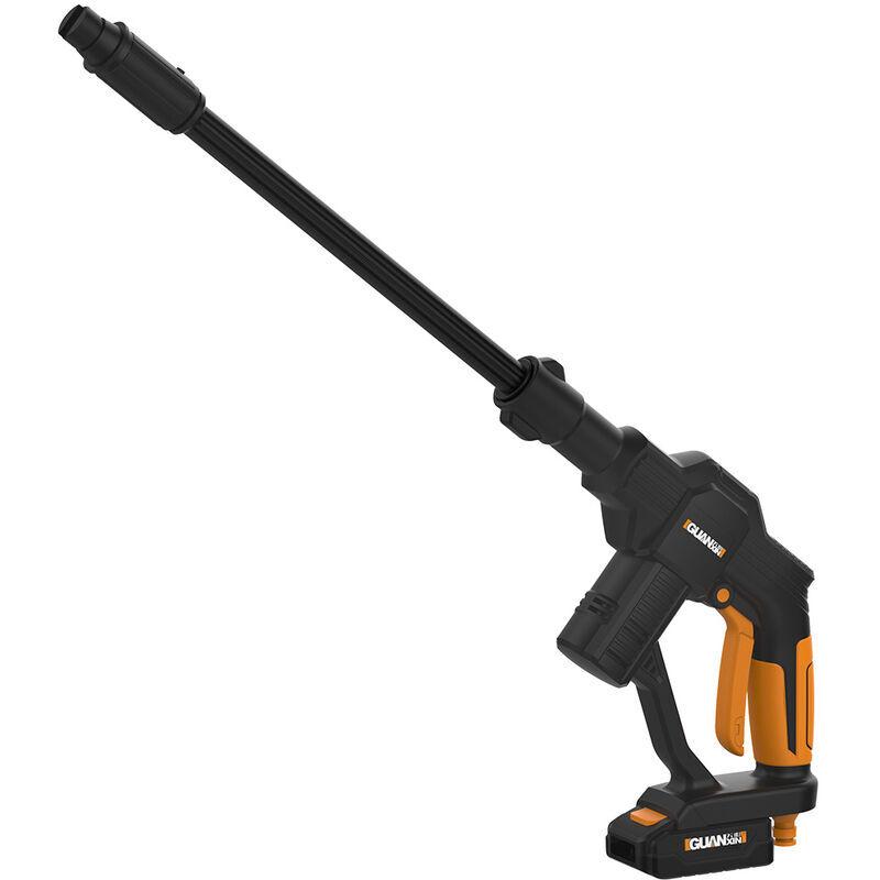 Pistolets de laveuse de voiture portables 20 V nettoyeur à pression sans fil Rechargeable de soins de voiture Machine à laver dispositif de nettoyage