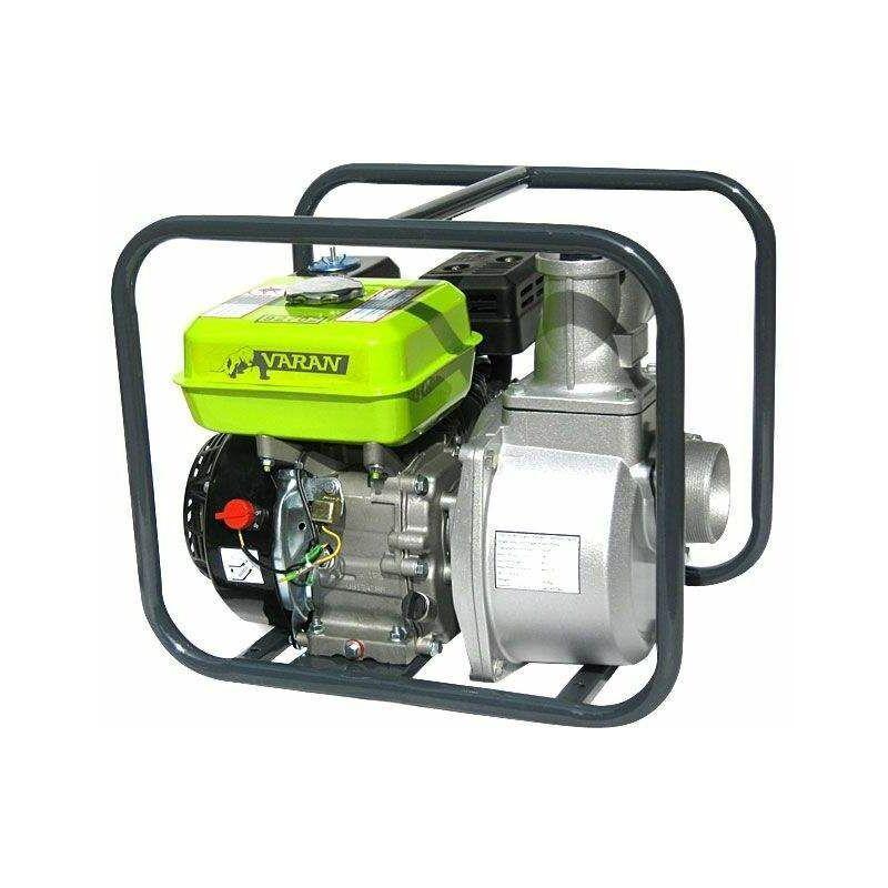 Varan Motors - 92702 Pompe à eau thermique Motopompe essence 3'' 60m³/H 6.5CV