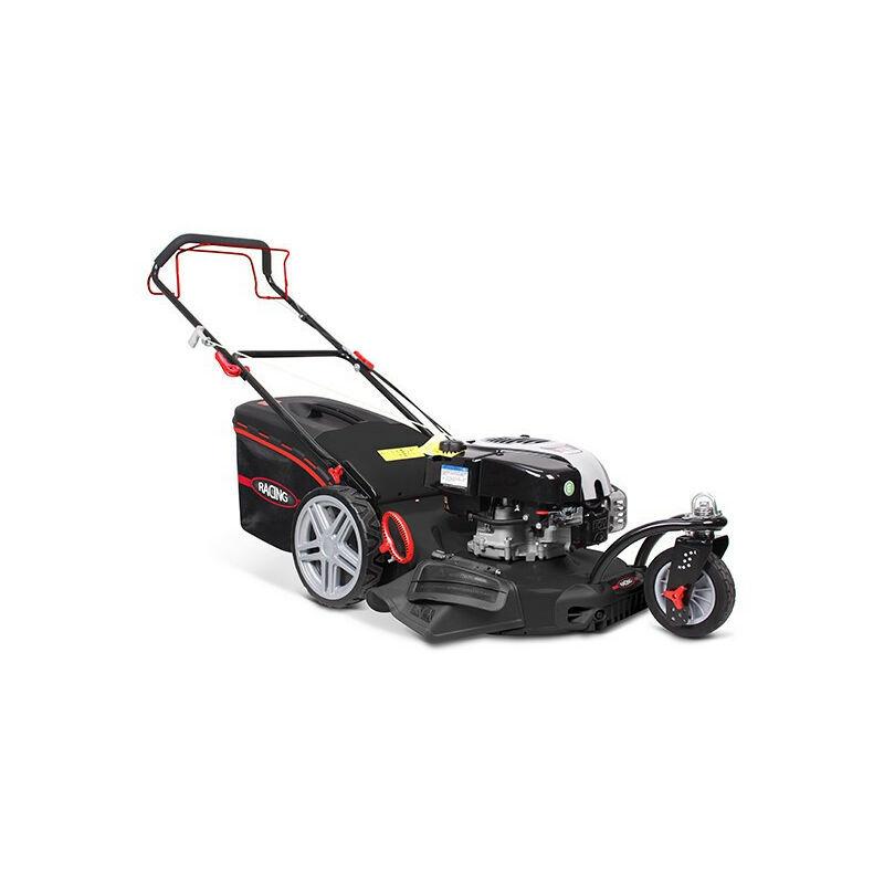 RACING Tondeuse thermique 161cm³ 51cm auto-tractée 3 roues moteur Briggs &