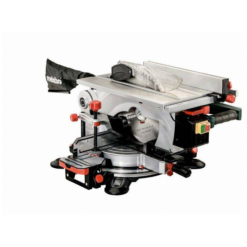 METABO Scie à onglets/circulaire METABO KGT 305 M de table - 1600W Ø305 mm - 619004000