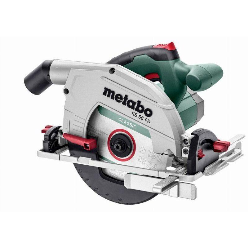 METABO Scie circulaire filaire KS 66 FS METABO + Coffret - 601066500