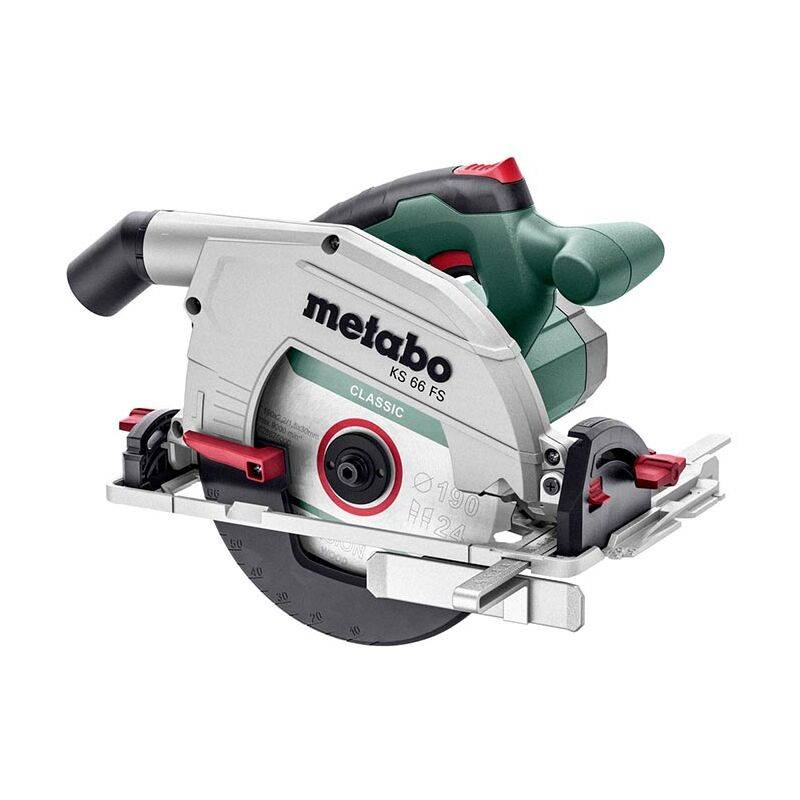 METABO Scie circulaire filaire KS 66 FS METABO + Coffret - 601066500