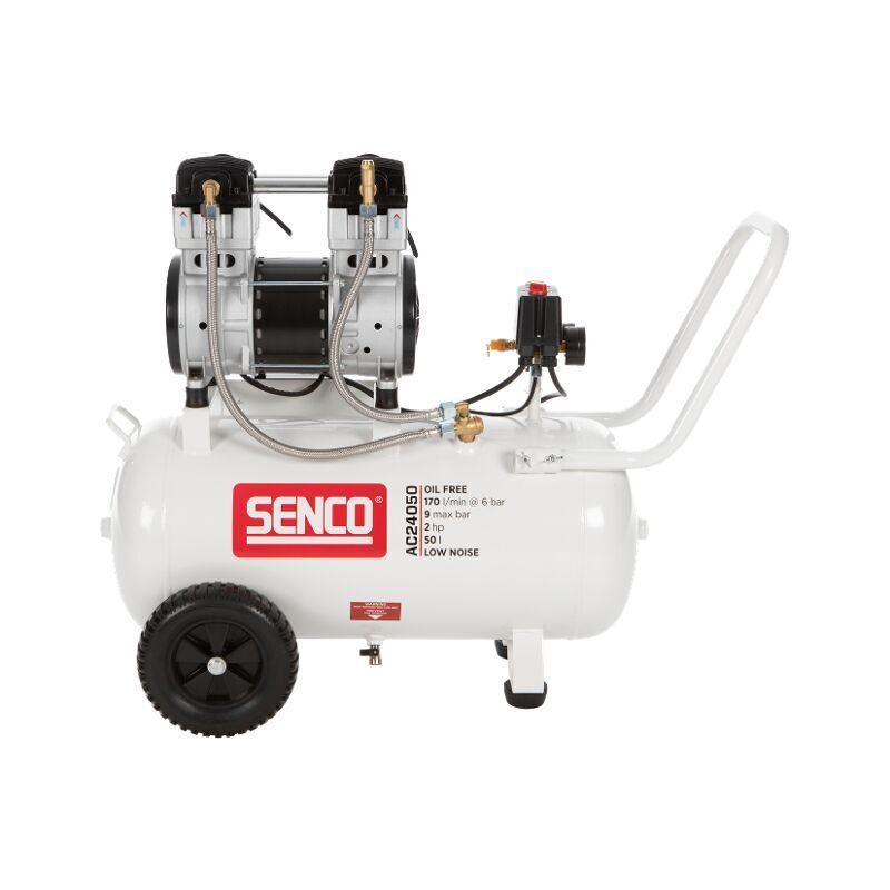 SENCO AC24050 Compresseur - Silencieux 1500W - 9 bar - 50L - 240L/m - AFN0033 - Senco