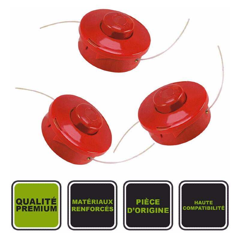 SILEX Lot de 3 têtes à 2 fils Silex® pour débroussailleuse