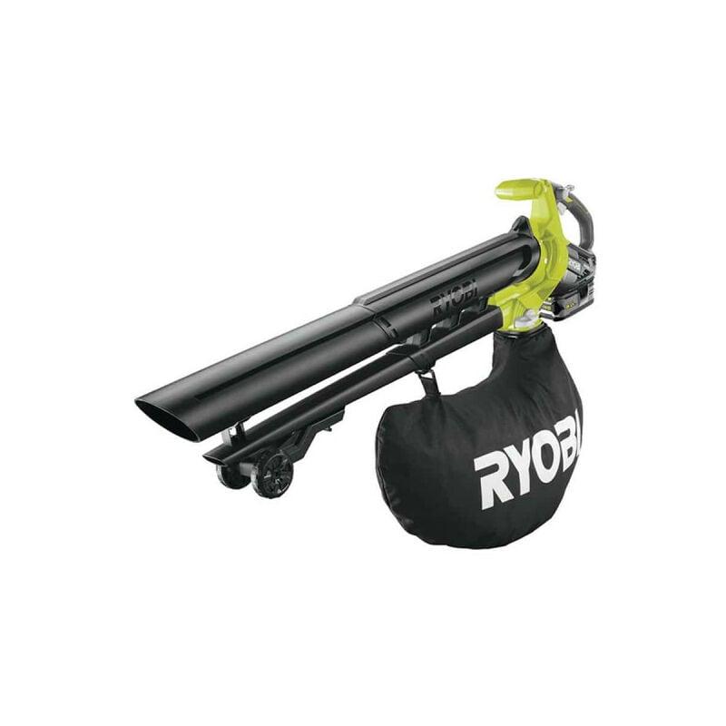 RYOBI Souffleur aspiro-broyeur RYOBI 18V LithiumPlus Brushless - 1 batterie 5.0 Ah