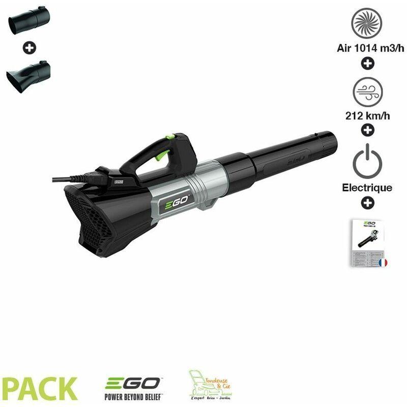 Ego Power+ - Souffleur à feuille à débit d'air 1014 m3/h Egopower vitesse 212
