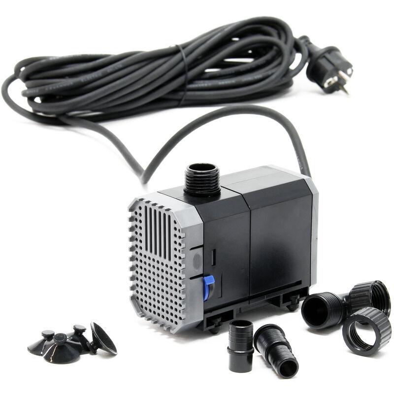 SunSun CHJ-900-10 Pompe de Bassin 900l/h 20W, comme filtre ou pompe de cours