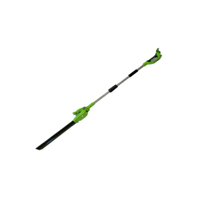GREENWORKS Taille-haies sur perche 51 cm GREENWORKS 24V - Sans batterie ni chargeur