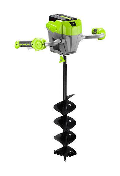 ZIPPER Tarière malaxeur D. 150 / 120 mm sans fil 40 V 4 Ah (sans batterie)
