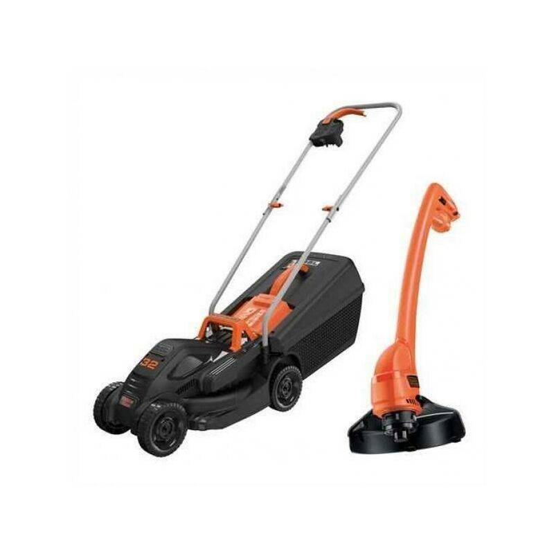 Tondeuse a' gazon compacte 1000W 1000W ELECTRICAL SIZEER avec GL250 BEMW351GL2-QS STRING TRIMMER – BLACK & DECKER