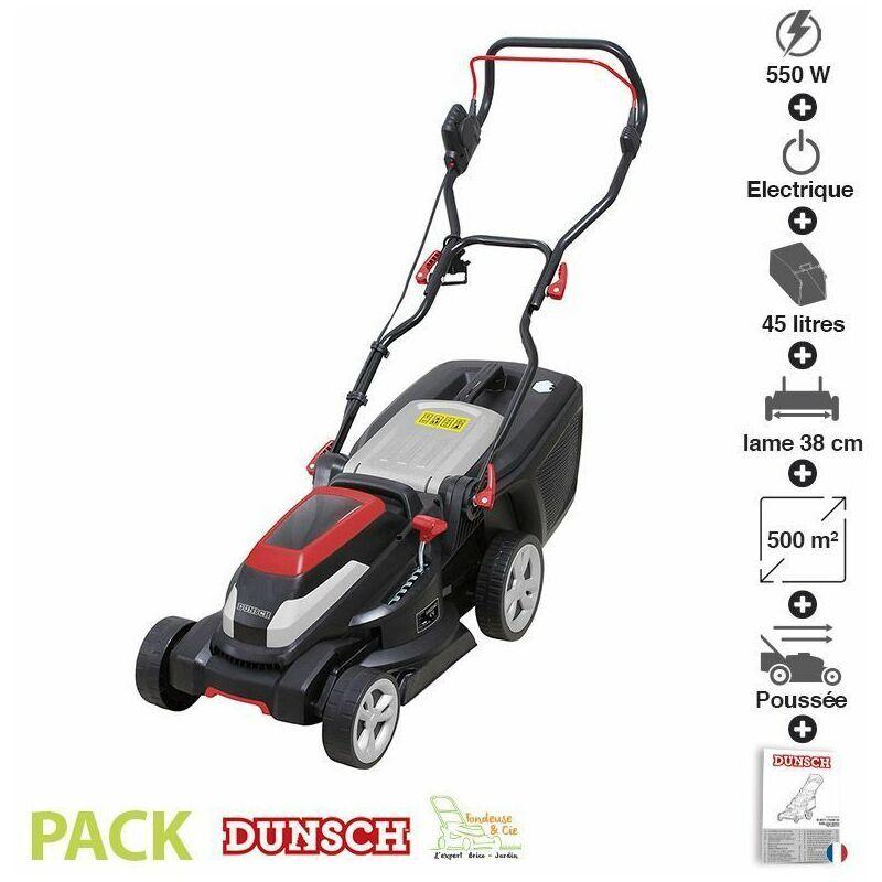 DUNSCH Tondeuse électrique sans fil Dunsch 40V coupe 38 cm DU10040-38C3