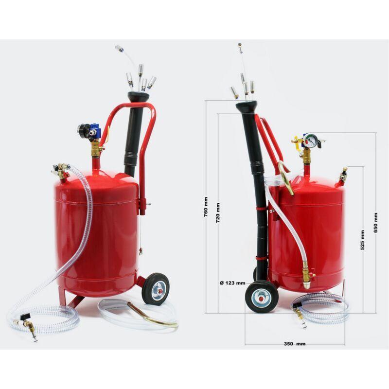 Bigb – Vidangeur d'huile récupérateur 22 litres par aspiration