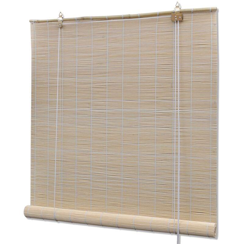 Perle rare Store roulant Bambou Naturel 120 x 220 cm