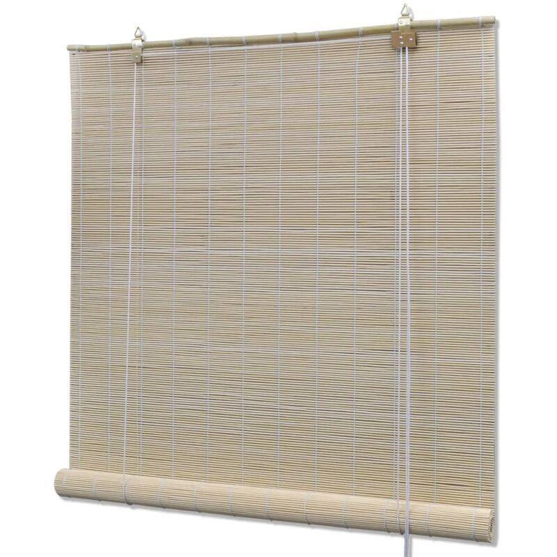 PERLE RARE Store roulant en bambou 80 x 220 cm Naturel - Perle Rare