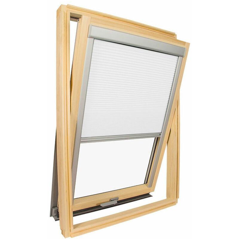 AVOSDIM Store isolant pour fenêtre de toit Velux ® Blanc - Code dimension MK04