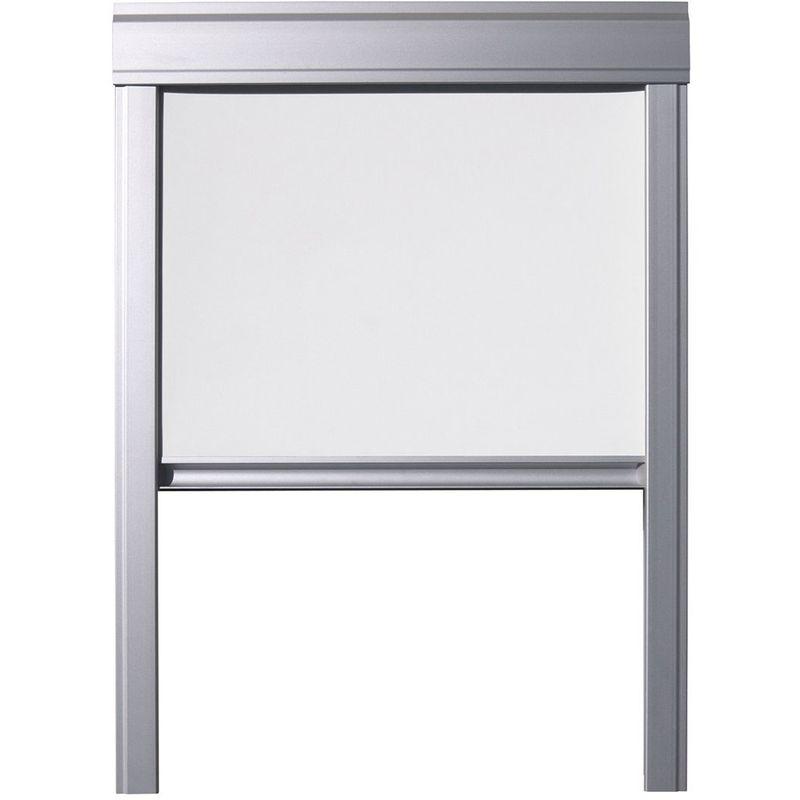 ITZALA Store Occultant pour Fenêtres De Toit VELUX, M08, MK08, 308, 2, Blanc - Blanc