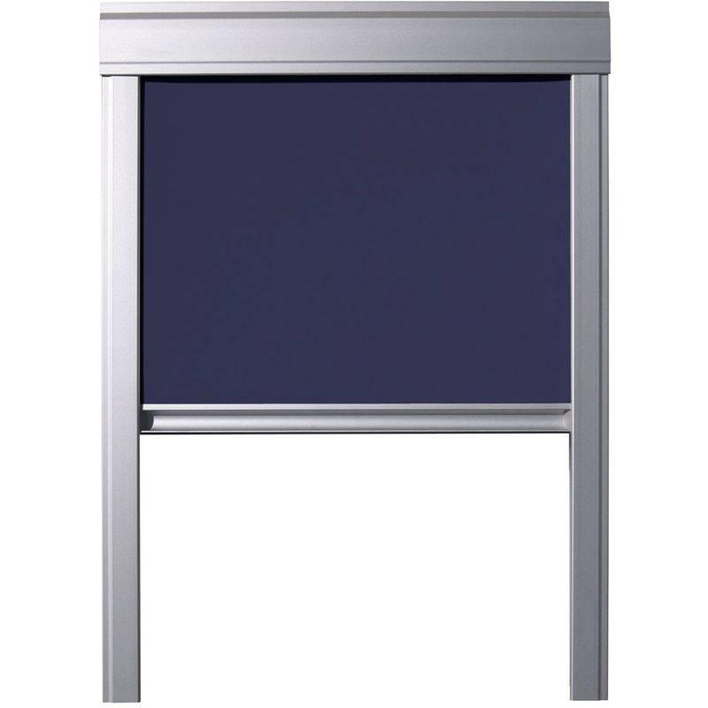 ITZALA Store Occultant Itzala pour Fenêtres De Toit VELUX, U04, UK04, 804, 7, Bleu