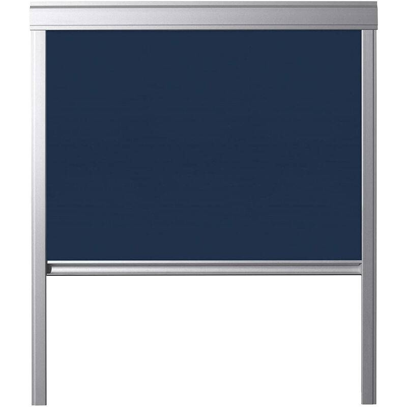 ITZALA Store occultant pour VELUX fenêtres de toit, C04, Bleu Foncé - Bleu Foncé