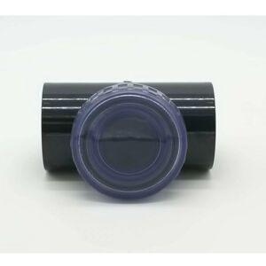 PISCINEO Clapet anti-retour transparent Pvc pression diam. 50 - Publicité
