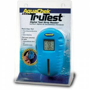 AQUACHEK Testeur piscine aquachek trutest bleu + 25 languettes - Publicité