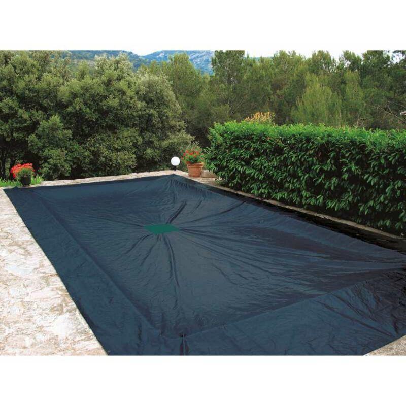 WERKAPRO Bâche de protection 240g/m2 pour piscine rectangulaire 5 x 9 m