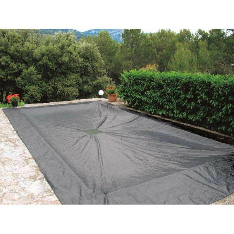 WERKAPRO Bâche de protection 140g/m2 6x12m pour piscine rectangulaire