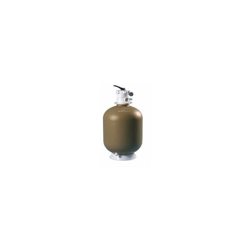 Aqualux - Filtre à sable Top 14 m3/H, avec vanne 6 voies complet, 615mm