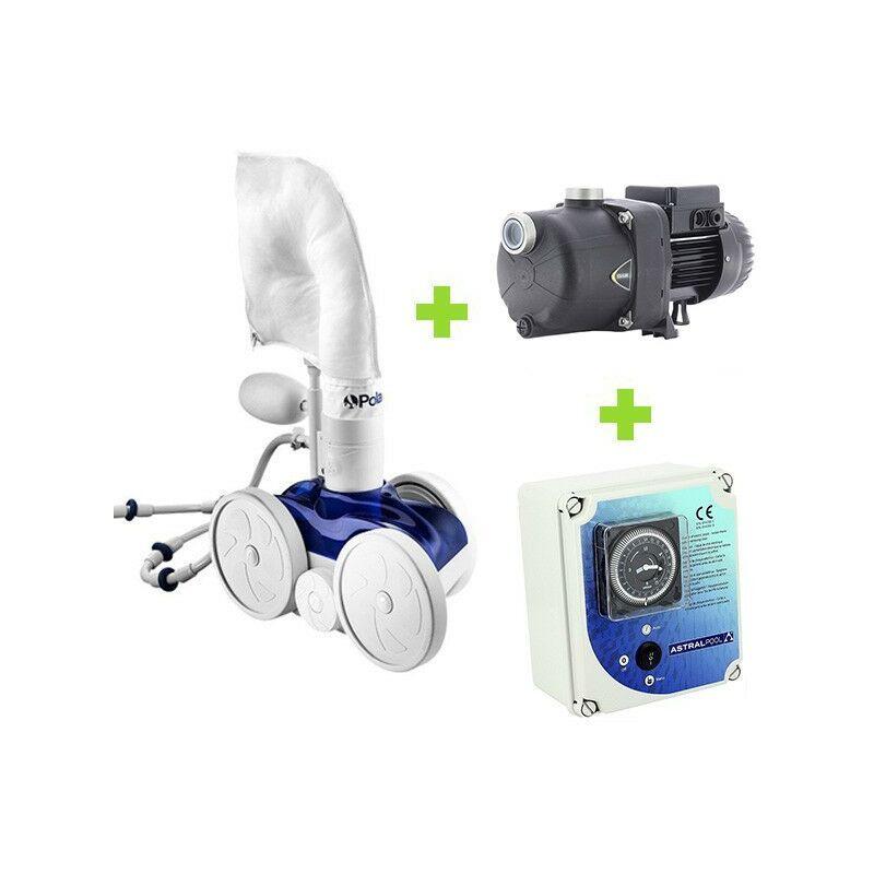 POLARIS Pack Polaris 280 - Eurocom SP+ + Coffret de Polaris - Robot piscine hydraulique