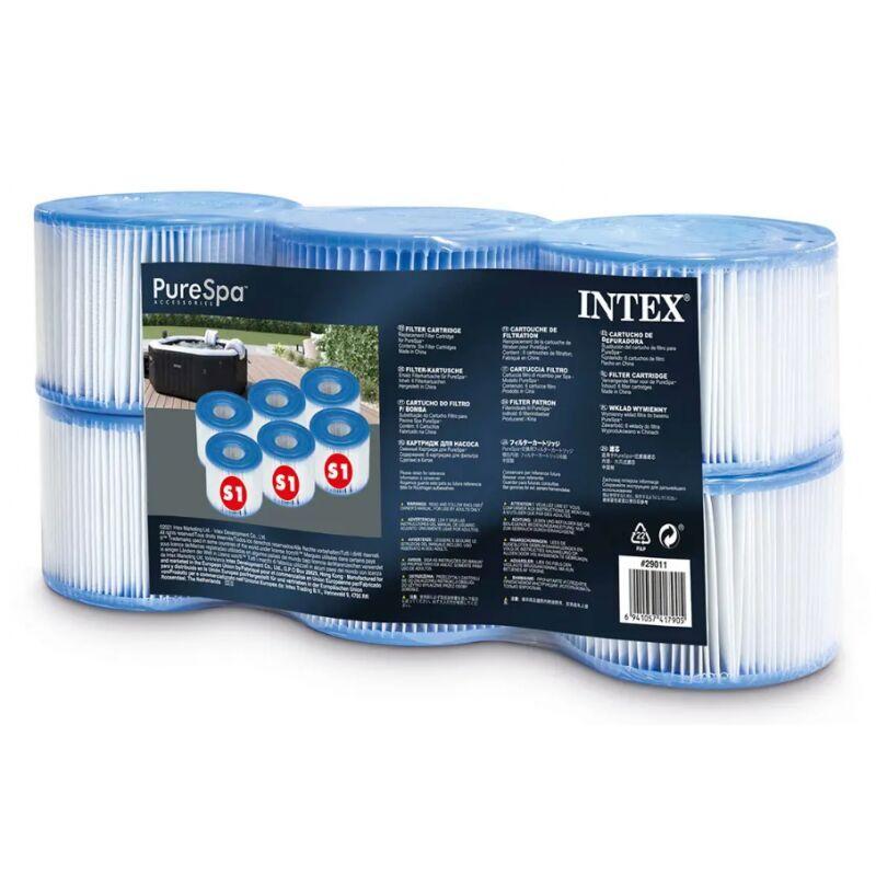 AC-DÉCO Cartouches pour SPA - Intex - Pack de 6