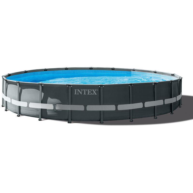 INTEX Piscine hors sol ronde Intex 26334 610x122 Ultra Frame XTR