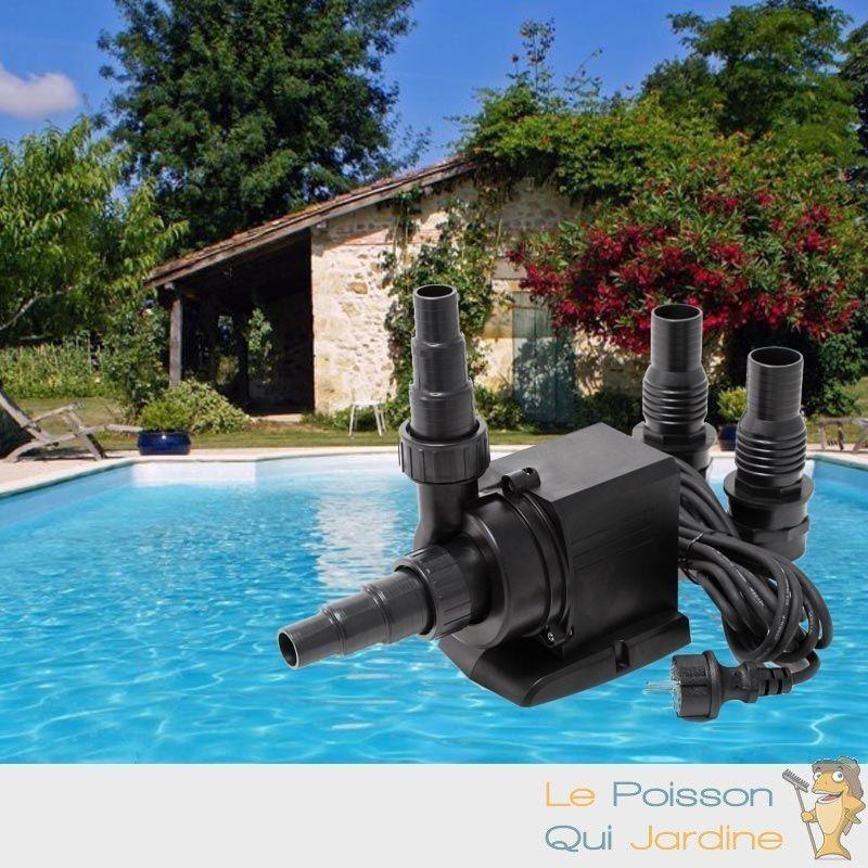 WWW.LEPOISSONQUIJARDINE.FR Pompe piscine de 14000 l/h - 140 W. Qualité et puissance