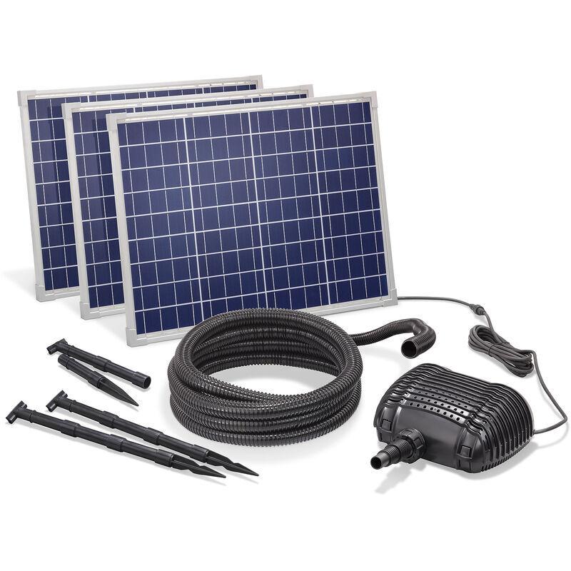 Esotec - Pompe solaire de cours d?eau 150W 5000l / h Pompe solaire Pompe