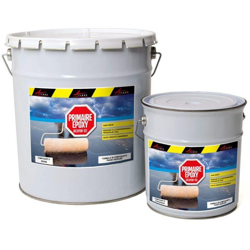 ARCANE INDUSTRIES Primaire epoxy piscine sol et mur HAUTE RESISTANCE Liquide- Transparent - kit