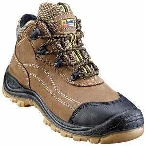 BLAKLADER Chaussures de sécurité mi-hautes Blaklader Cuir Nubuck S3 Marron 48 - Publicité