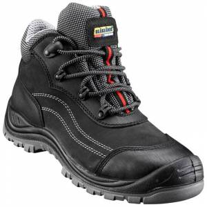 BLAKLADER Chaussures de sécurité mi-hautes Blaklader Cuir Nubuck S3 Noir 38 - Publicité