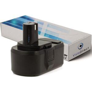 Visiodirect - Batterie pour Ryobi LDD-1802PB perceuse visseuse 3000mAh 18V - Publicité