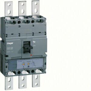 HAGER Disjoncteur boîtier moulé h1000 3P 50kA 800A LSI (HNE800H) - Publicité
