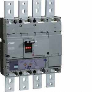 Hager - Disjoncteur boîtier moulé h1000 4P 50kA 1000A LSI (HNE971H) - Publicité