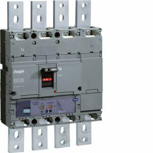 Hager - Disjoncteur boîtier moulé h1000 4P 70kA 800A LSI montage fixe (HEE801H) - Publicité