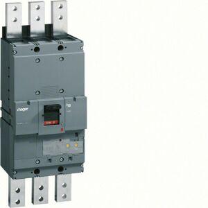 Hager - Disjoncteur boîtier moulé h1600 3P 70kA 1250A LSI montage fixe (HEF980H) - Publicité