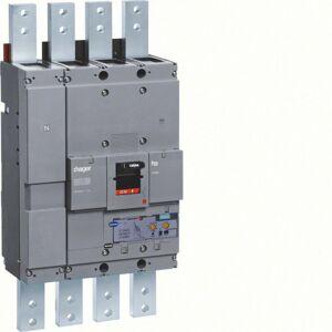 Hager - Disjoncteur boîtier moulé h1600 4P 70kA 1600A LSI montage fixe (HEF991H) - Publicité