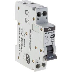 ZENITECH Disjoncteur PH/N - 2A NF pour cumulus et chauffe-eau - Zenitech - Publicité