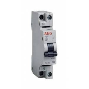 AEG Disjoncteur Phase+Neutre 20A - Aeg - Publicité