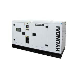 HYUNDAI Groupe électrogène DHY35KSEm insonorisé monophasé Diesel - Publicité