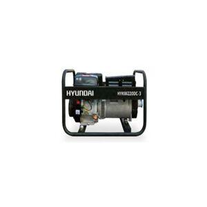 HYUNDAI Groupe électrogène poste à souder HYKW220dc moteur monophasé - Publicité