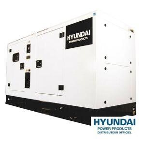 Hyundai E - HYUNDAI Groupe électrogène triphasé Diesel DHY34KSE - Publicité