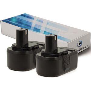 Visiodirect - Lot de 2 batteries pour Ryobi LDD1802PB perceuse visseuse 3000mAh - Publicité
