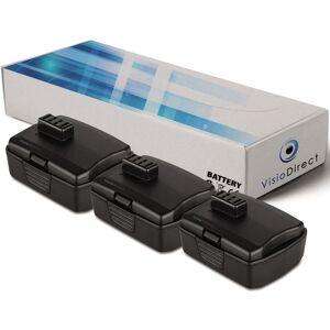 Visiodirect - Lot de 3 batteries pour Ryobi LSD-1201PB perceuse visseuse - Publicité
